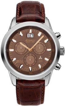 Швейцарские наручные мужские часы Atlantic 73460.41.81R. Коллекция Seacloud фото