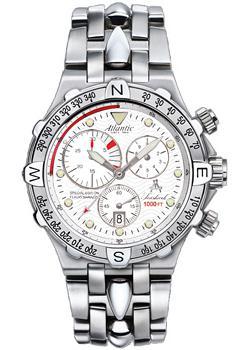 Швейцарские наручные мужские часы Atlantic 88489.41.16. Коллекция Seashark