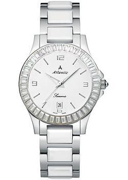 Швейцарские наручные  женские часы Atlantic 92345.52.15. Коллекция Searamic