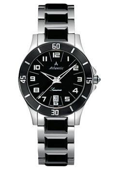Швейцарские наручные  женские часы Atlantic 92345.53.63. Коллекция Searamic