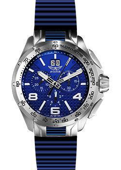 Швейцарские наручные мужские часы Aviator M.2.19.0.133.6. Коллекция Mig-35