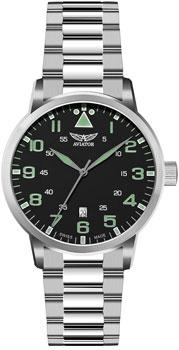 Швейцарские наручные мужские часы Aviator V.1.11.0.038.5. Коллекция Airacobra
