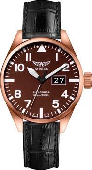 Швейцарские наручные мужские часы Aviator V.1.22.2.151.4. Коллекция Airacobra фото