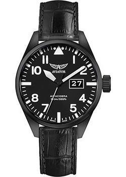 Швейцарские наручные мужские часы Aviator V.1.22.5.148.4. Коллекция Airacobra фото