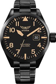 Швейцарские наручные мужские часы Aviator V.1.22.5.157.5. Коллекция Airacobra фото