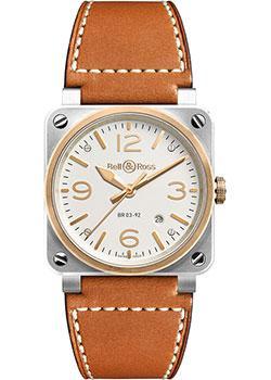 Швейцарские наручные  мужские часы Bell&Ross BR0392-ST-PG_SCA. Коллекция BR 03