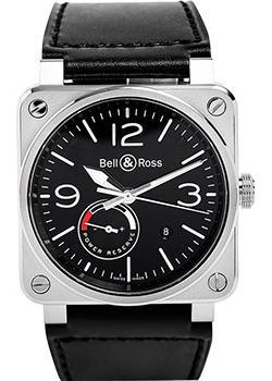 Швейцарские наручные  мужские часы Bell&Ross BR0397-BL-SI_SCA. Коллекция BR 03