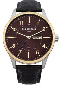 fashion наручные  мужские часы Ben Sherman WB002B. Коллекция Spitalfields Day-Date