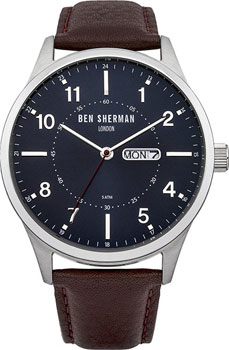 fashion наручные  мужские часы Ben Sherman WB002BRA. Коллекция Spitalfields Day-Date