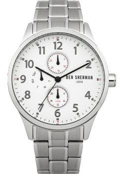 fashion наручные мужские часы Ben Sherman WB004SM. Коллекция Spitalfields Multi-Function