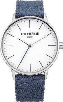 fashion наручные  мужские часы Ben Sherman WB009UA. Коллекция Portobello Social