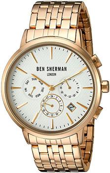 fashion наручные мужские часы Ben Sherman WB028GMA. Коллекция Spitalfields Social