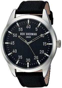 fashion наручные  мужские часы Ben Sherman WB031BA. Коллекция Covent Herringbone