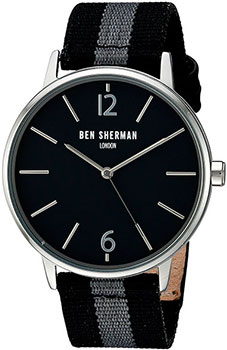 fashion наручные  мужские часы Ben Sherman WB044BA. Коллекция Portobello Stripe