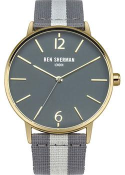 fashion наручные мужские часы Ben Sherman WB044EGA. Коллекция Portobello Stripe