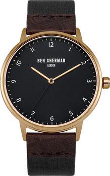 fashion наручные  мужские часы Ben Sherman WB049BRG. Коллекция Portobello Heritage