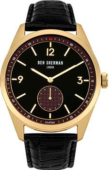 fashion наручные мужские часы Ben Sherman WB052BGA. Коллекция Carnaby Driver