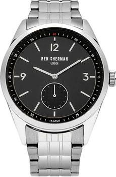 fashion наручные мужские часы Ben Sherman WB052BSMA. Коллекция Carnaby Driver