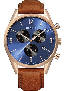 fashion наручные  мужские часы Bering 10542-467. Коллекция Classic.