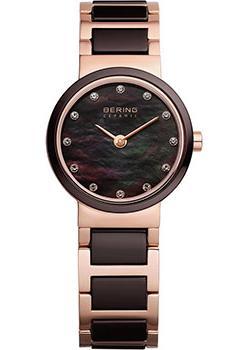 fashion наручные  женские часы Bering 10725-765. Коллекция Ceramic