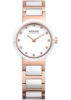 fashion наручные  женские часы Bering 10725-766. Коллекция Ceramic.