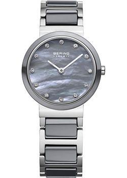fashion наручные  женские часы Bering 10725-789. Коллекция Ceramic