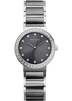 fashion наручные  женские часы Bering 10729-703. Коллекция Ceramic