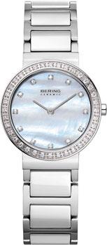 fashion наручные  женские часы Bering 10729-704. Коллекция Ceramic.