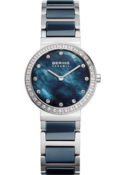 fashion наручные  женские часы Bering 10729-707. Коллекция Ceramic