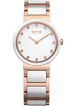 fashion наручные  женские часы Bering 10729-766. Коллекция Ceramic