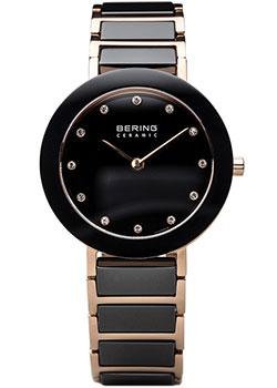 fashion наручные  женские часы Bering 11429-746. Коллекция Ceramic