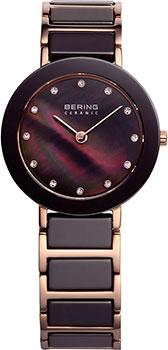 fashion наручные  женские часы Bering 11429-765. Коллекция Ceramic