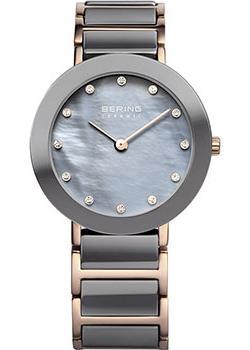 fashion наручные  женские часы Bering 11429-769. Коллекция Ceramic