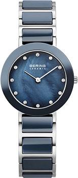 fashion наручные  женские часы Bering 11429-787. Коллекция Ceramic