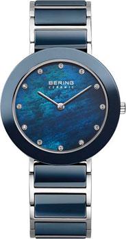 fashion наручные  женские часы Bering 11435-787. Коллекция Ceramic