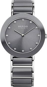 fashion наручные  женские часы Bering 11435-789. Коллекция Ceramic
