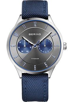 fashion наручные  мужские часы Bering 11539-873. Коллекция Titanium.