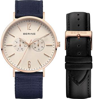 fashion наручные  мужские часы Bering 14240-664. Коллекция Classic.