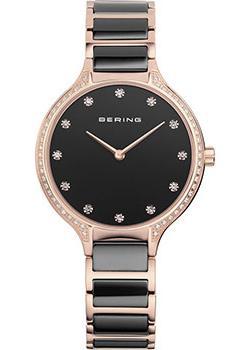 fashion наручные  женские часы Bering 30434-746. Коллекция Ceramic