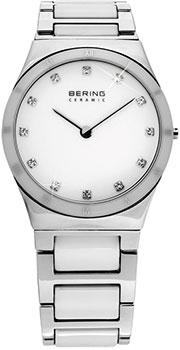 fashion наручные  женские часы Bering 32230-764. Коллекция Ceramic.