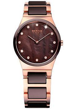 fashion наручные  женские часы Bering 32230-765. Коллекция Ceramic