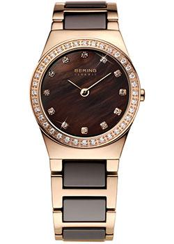 fashion наручные  женские часы Bering 32426-765. Коллекция Ceramic