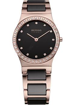 fashion наручные  женские часы Bering 32430-746. Коллекция Ceramic