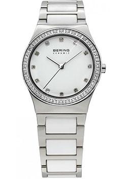 fashion наручные  женские часы Bering 32435-754. Коллекция Ceramic