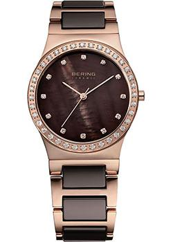 fashion наручные женские часы Bering 32435-765. Коллекция Ceramic