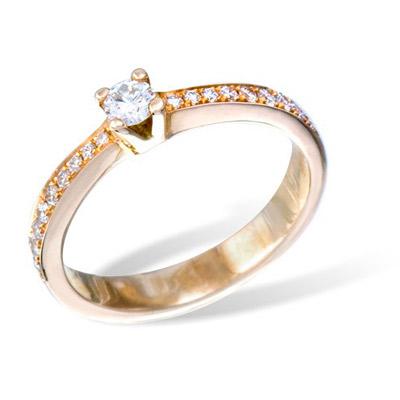 Золотое кольцо  K01059RG