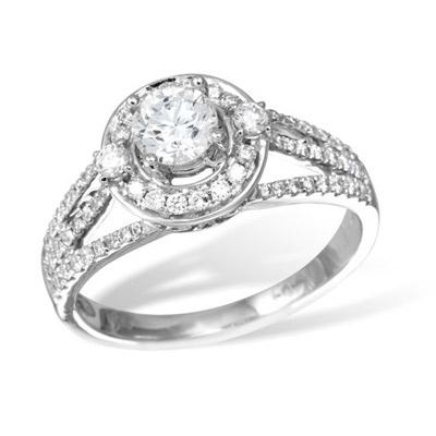 Золотое кольцо K026241WG
