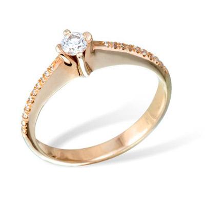 Золотое кольцо  K0862RG