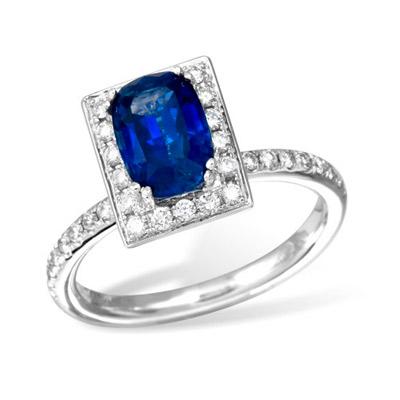Золотое кольцо  Ювелирное изделие R0002203sap
