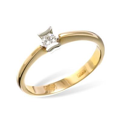Золотое кольцо  RK0009YW